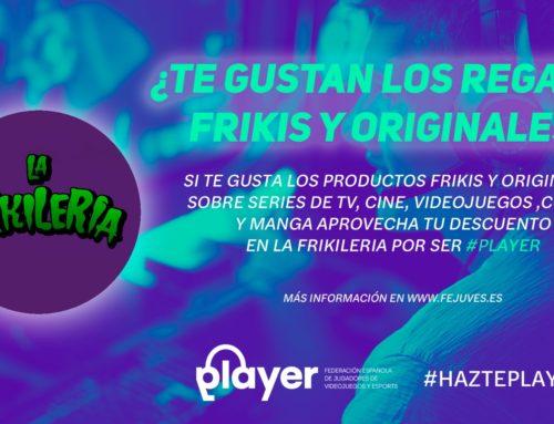 La Frikilería colaborará con la Federación española de jugadores de videojuegos y esports