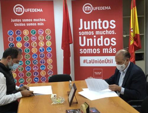 La federación y UFEDEMA alcanzan un acuerdo de colaboración