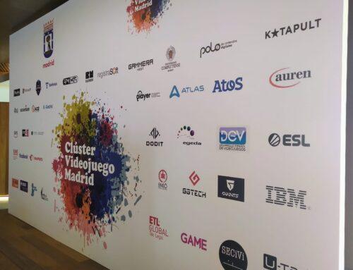 FEJUVES está presente en el Inicio de actividad del Clúster de videojuegos de Madrid .